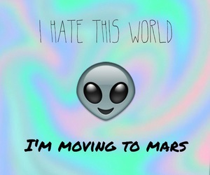 alien, hate, and mars image