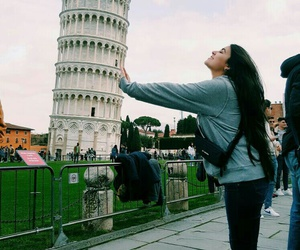 italy, me, and Pisa image