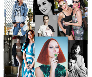 singer, katy parry, and my love image