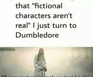 dumbledore, book, and harry potter image