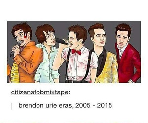 brendon urie, panic! at the disco, and bands image