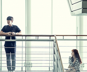 cheese in the trap, kim go eun, and park hae jin image