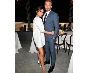 David Beckham, couple, and victoria beckham image