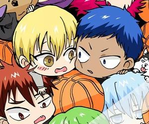 kuroko no basket, anime, and Akashi image