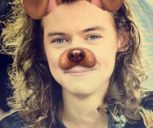 snap, harry, and styles image