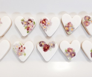 Cookies, design, and floral image
