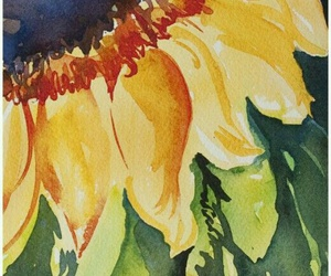 art, watercolor, and paint image