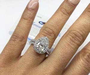 ring and engagement. image