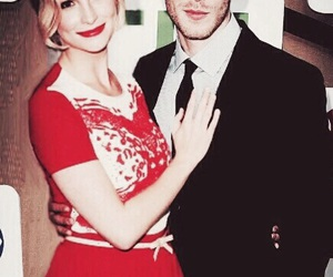 joseph morgan, candice accola, and klaroline image