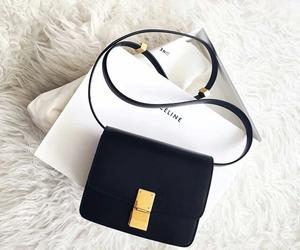 bag, black, and celine image