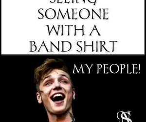 band, andy biersack, and funny image