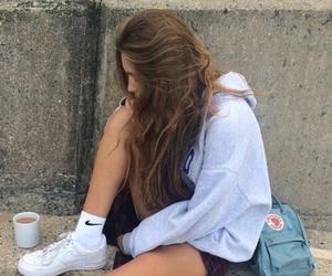 alone, nıke, and girls image