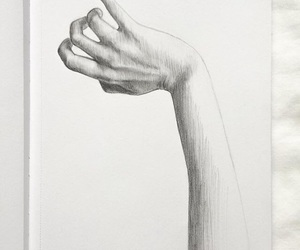 arm, art, and black image