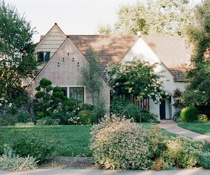 house, vintage, and nature image