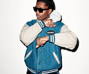 asap rocky, rapper, and swag image