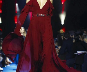 elie saab, model, and runway image