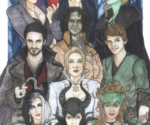 draw, once upon a time, and ️ouat image