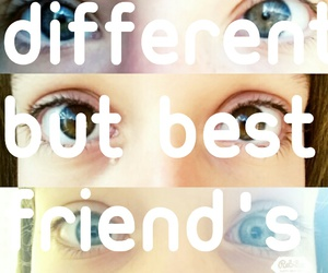 Best, friends, and different image