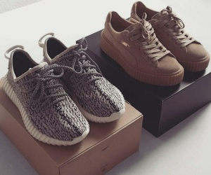 shoes, puma, and yeezy image