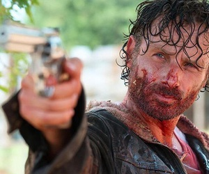 twd, rick grimes, and the walking dead image