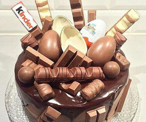 cake, sweet, and hazelnut image
