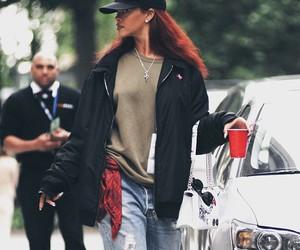 rihanna, cap, and fashion image