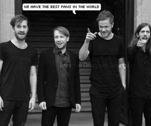imagine dragons, music, and love image