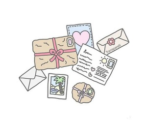 Letter, love, and mail image