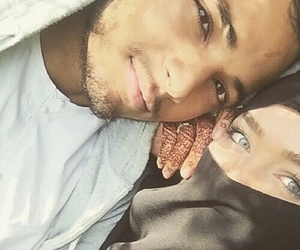 couple and muslim image