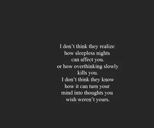 sad, quotes, and sleepless image