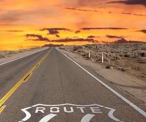 america, open road, and pink image
