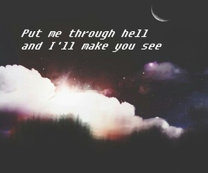 galaxy, hell, and Lyrics image