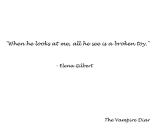 quotes, the vampire diaries, and elena gilbert image
