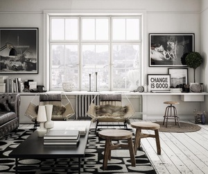 grey, modern, and daily dream decor image