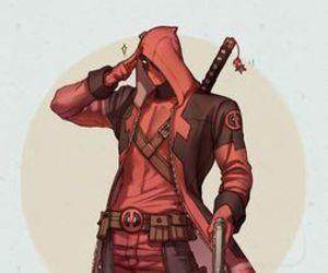 daredevil, deadpool, and Marvel image