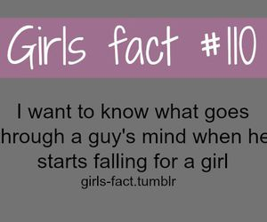 quotes, girls fact, and boy image