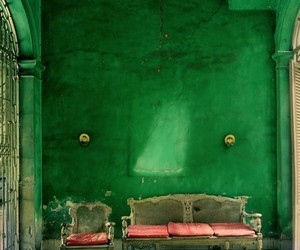 green, vintage, and room image