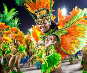 brazil, carnival, and rio image