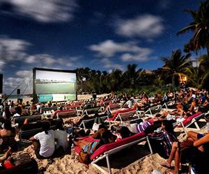 movie, bucketlist, and open air cinema image