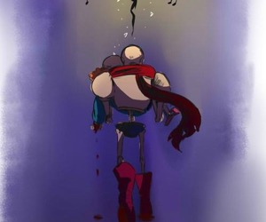 heartbreaking, papyrus, and sad image