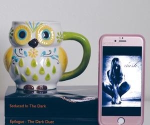 bibliophile, books, and coffee image