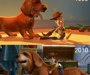 toy story, dog, and disney image
