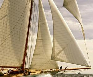 mar, barcos, and ship image