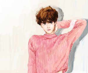 Chen, exo, and fan art image