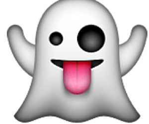 ghost and emoji image