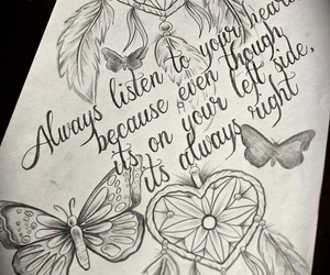 tattoo, butterfly, and quotes image