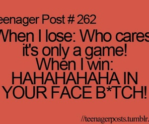 teenager post, funny, and game image
