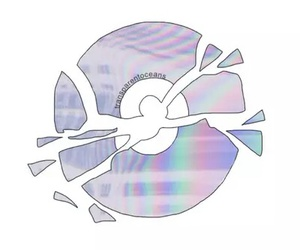 cd, overlays, and transparent image
