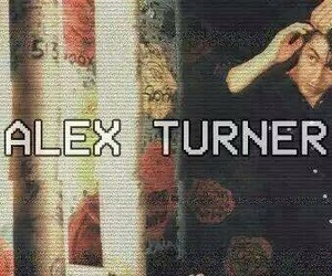 alex turner, arctic monkeys, and grunge image