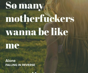 alone, music, and fuck image